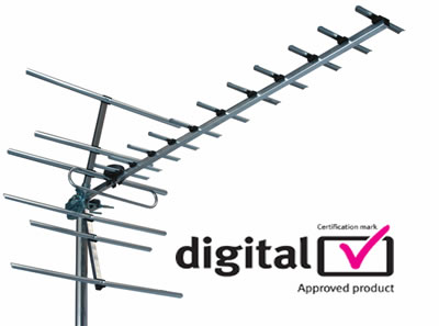 DIGITAL TV AERIAL THE DIGITAL SWITCHOVER